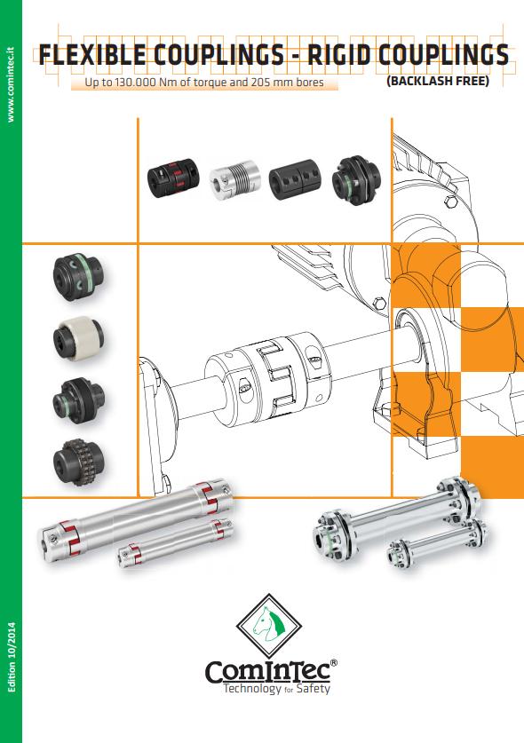 ComInTec - sprzęgła elastyczne (sprzęgła bezluzowe)